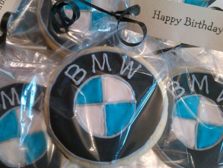 Bmw Logo Cookies on Cake Central