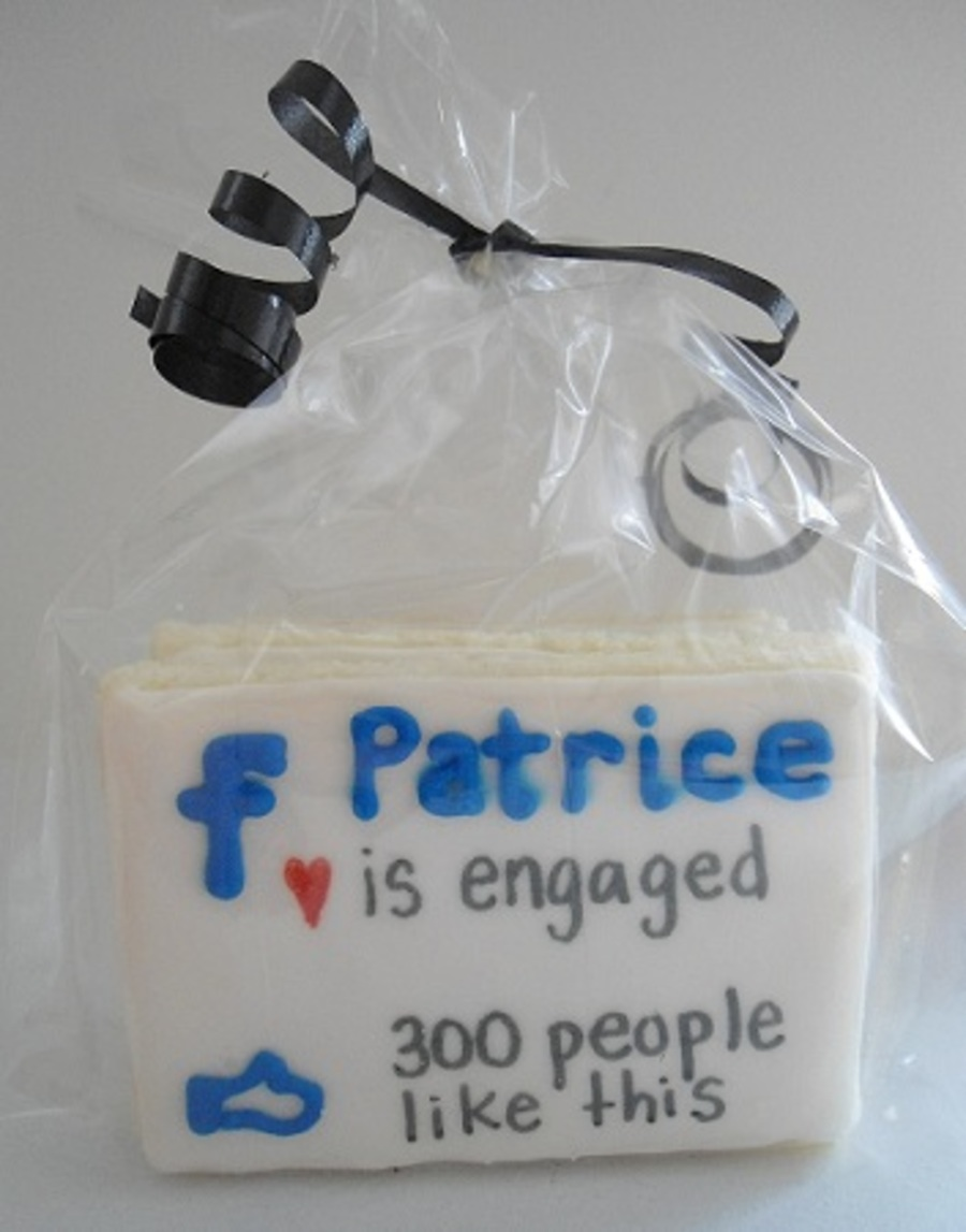 Facebook Announcement Cookies on Cake Central