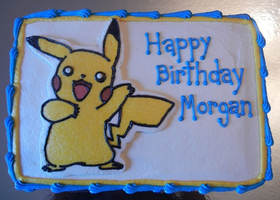 Pikachu Birthday Cake on Cake Central