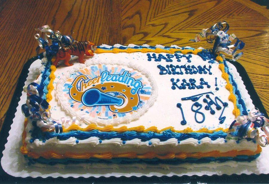 Incredible Happy 18Th Birthday Kara Cakecentral Com Funny Birthday Cards Online Hetedamsfinfo