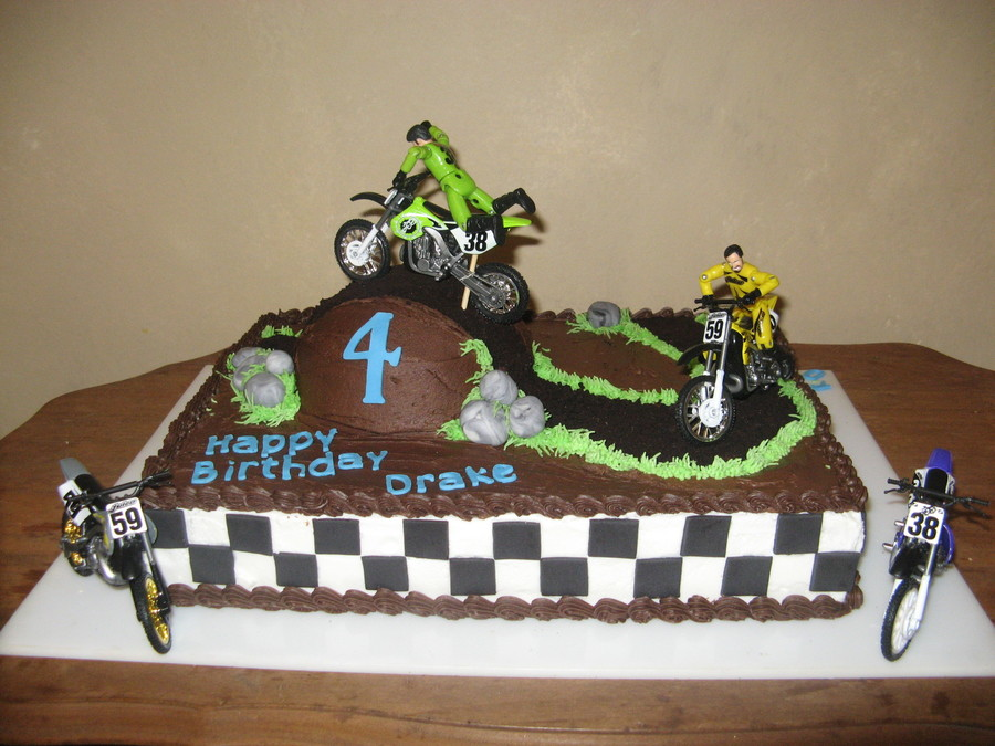 Trail Bike Cake For Nephew on Cake Central