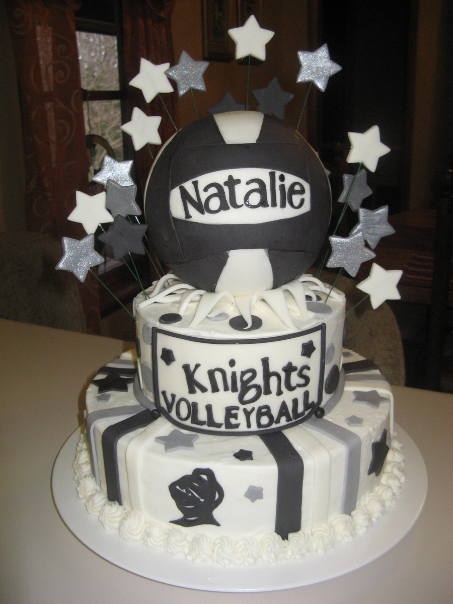 Pleasant Volleyball Birthday Cake Cakecentral Com Personalised Birthday Cards Beptaeletsinfo