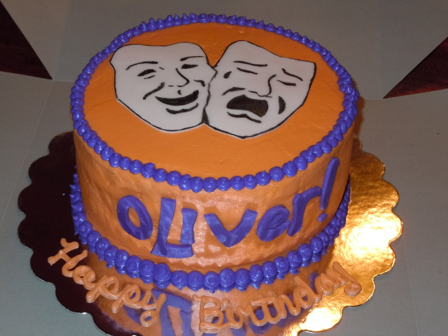 Oliver Birthday Cake. on Cake Central
