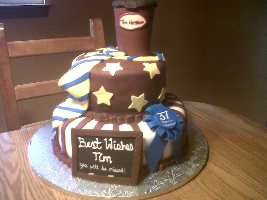 Tim Horton's Cake on Cake Central