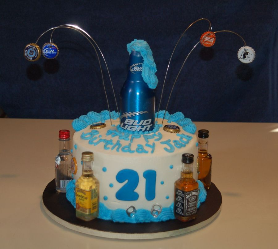 Happy 21 Jack! on Cake Central