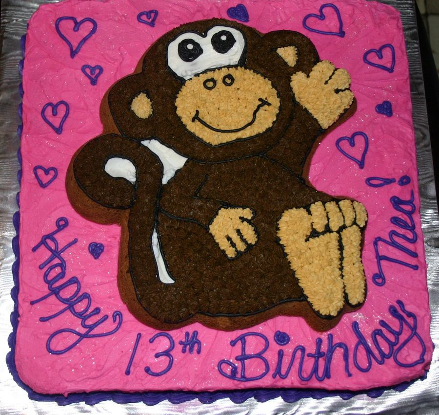 Monkey For Thea on Cake Central