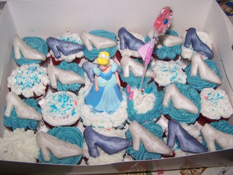 Cinderella Cupcakes on Cake Central