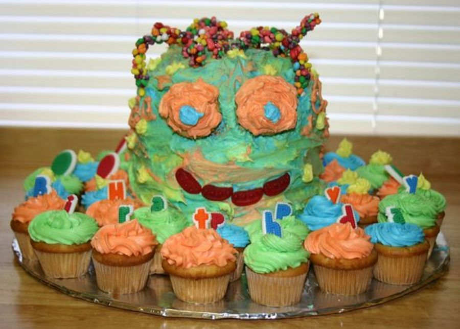 Silly Monster on Cake Central