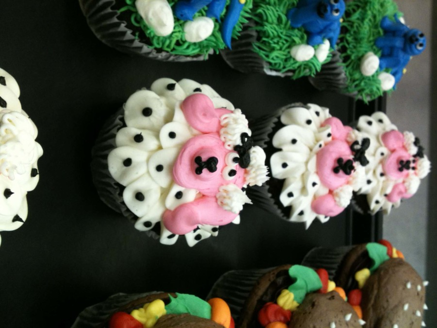Pink Poodle Cuppycakes on Cake Central