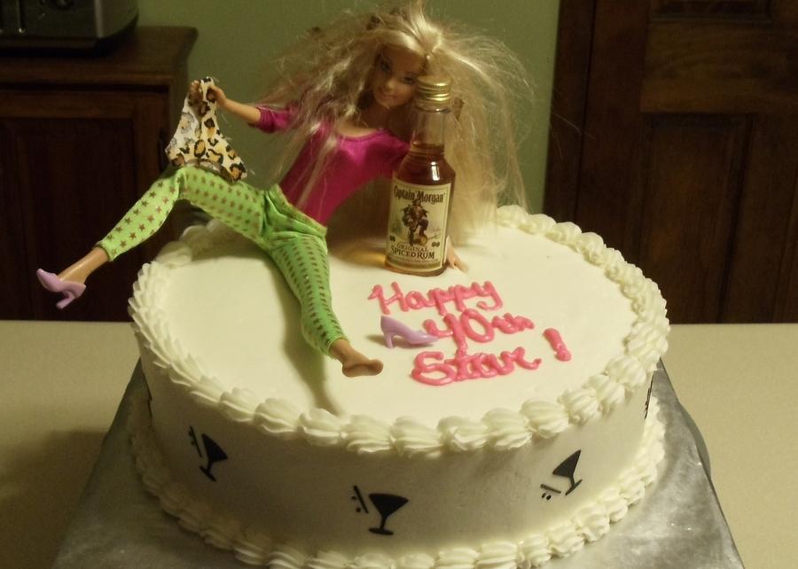 Drunk Barbie Cakecentral Com