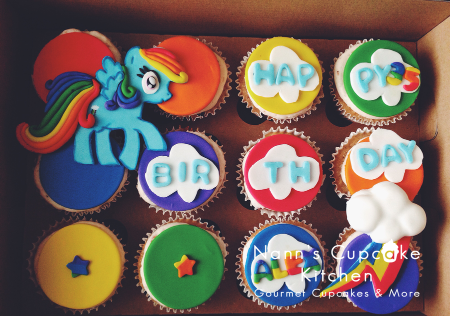 My Little Pony Rainbow Dash on Cake Central