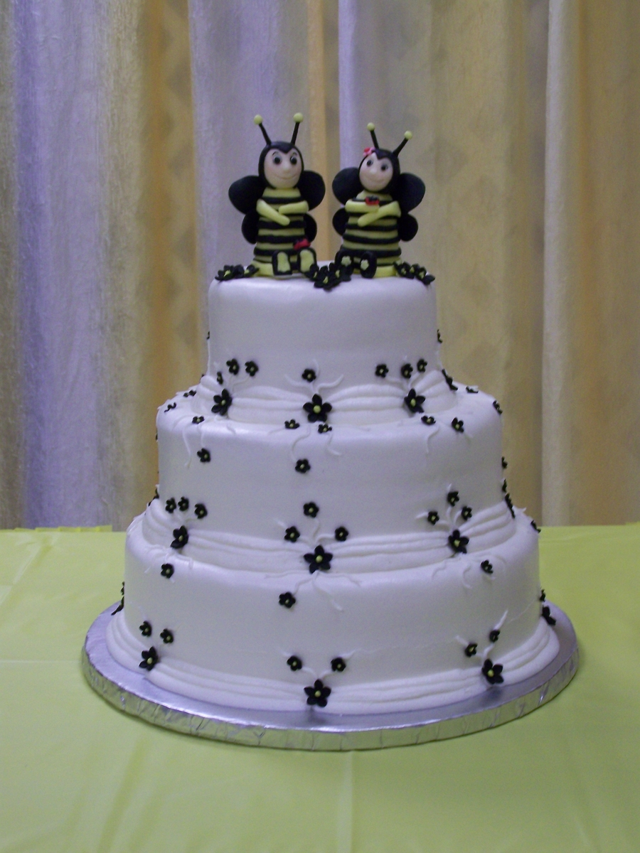 How To Make Bumble Bees For Cakes