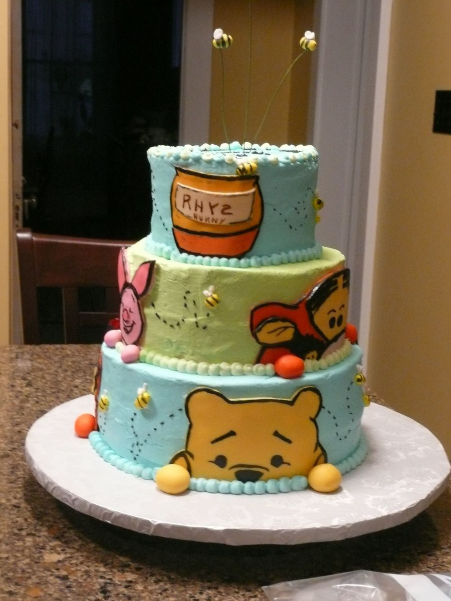 Peek A Boo Pooh on Cake Central