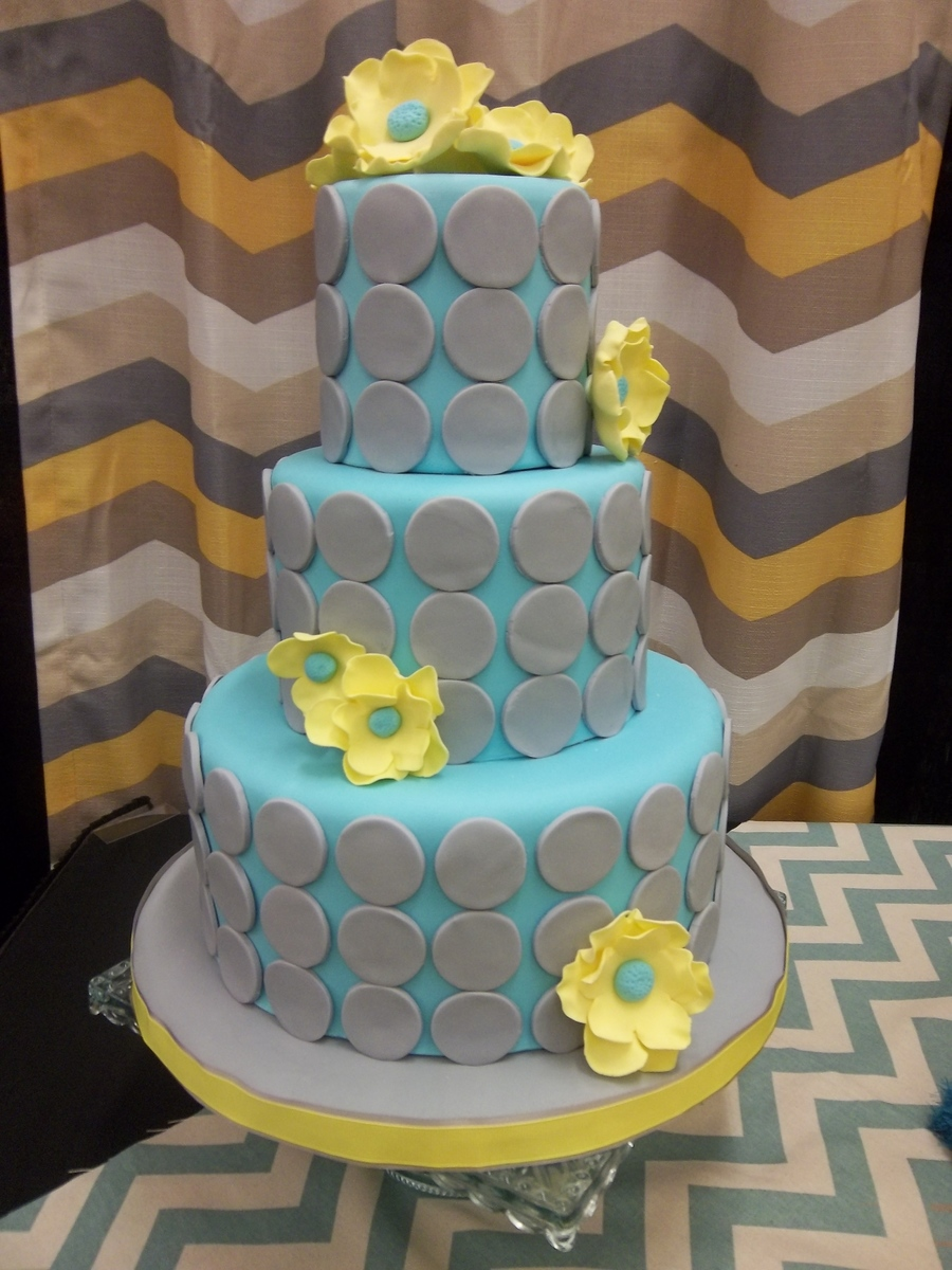 Dummy Cake Made For Bridal Show on Cake Central