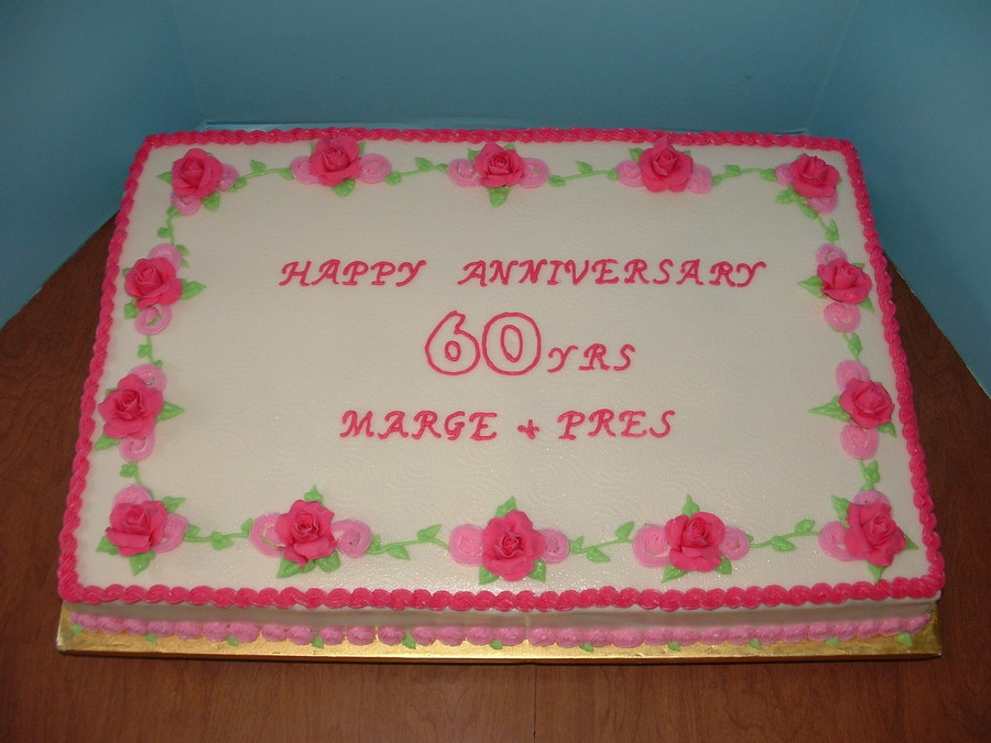 60th Wedding Anniversary Gifts For Friends: 60Th Anniversary Of Church Friends 5050 Roses Because Of