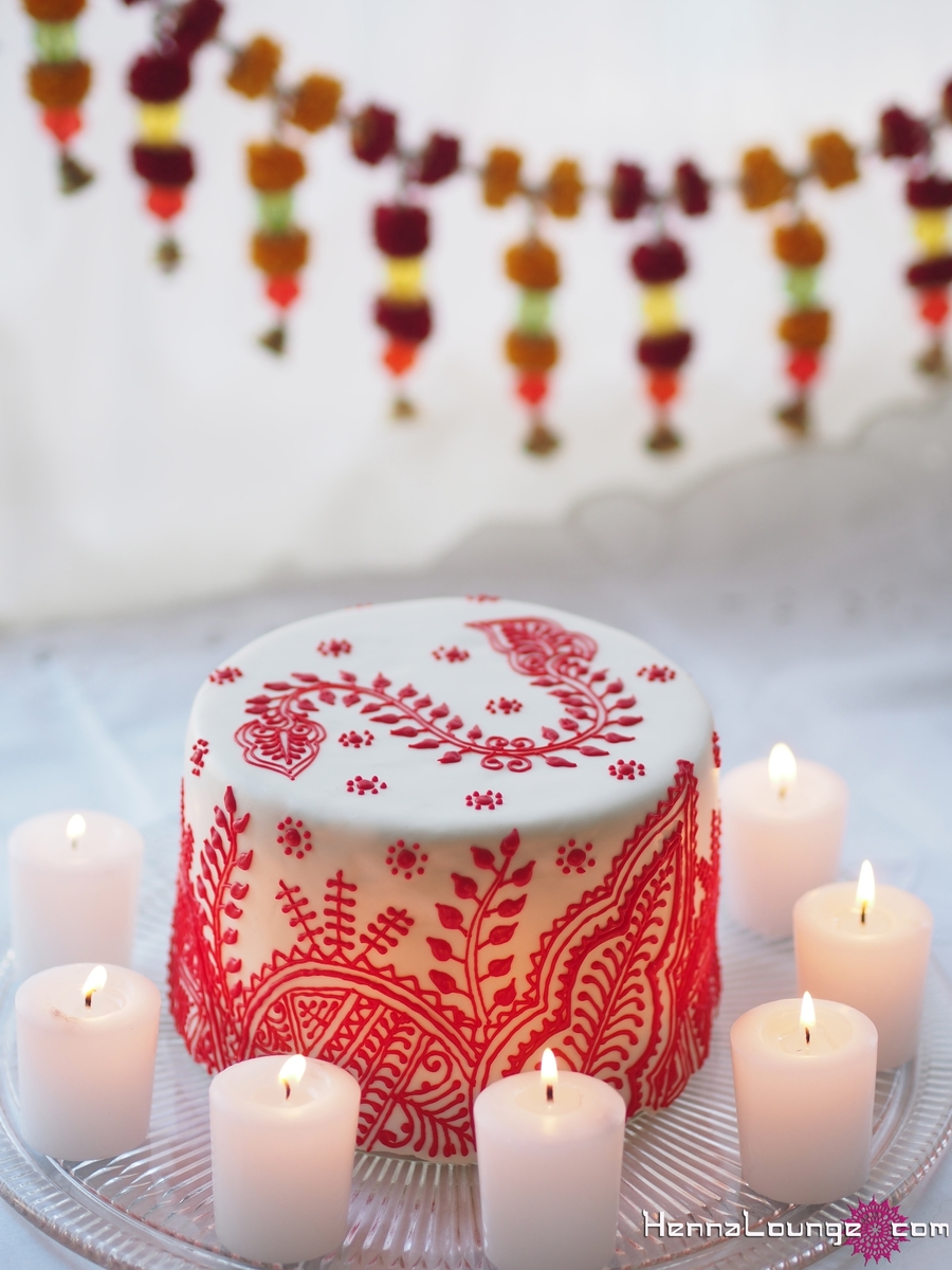 Moroccan/indian Henna Cake on Cake Central