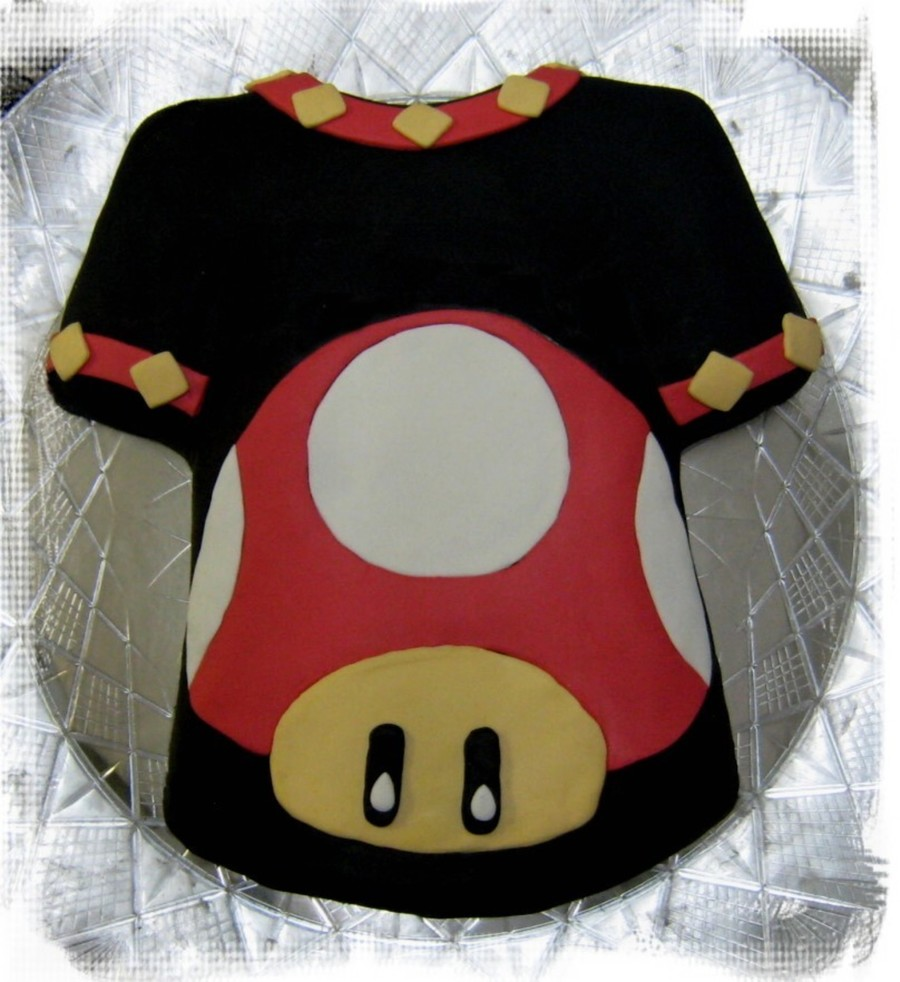 Super Mario Shirt on Cake Central