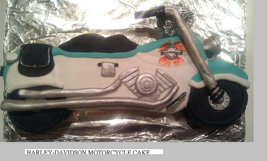 Harley-Davidson Cake on Cake Central