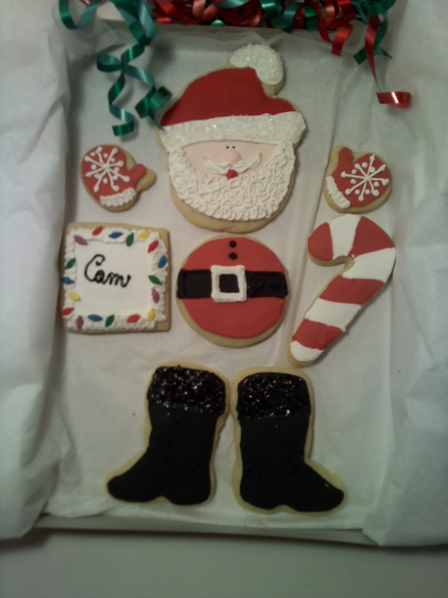 Cookie Box For Santa on Cake Central