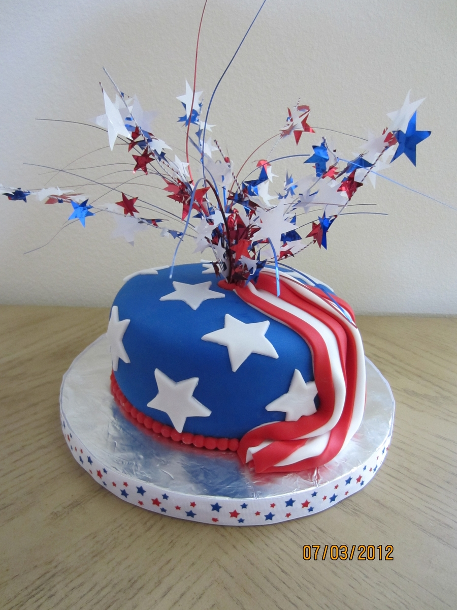 4Th Of July Birthday on Cake Central
