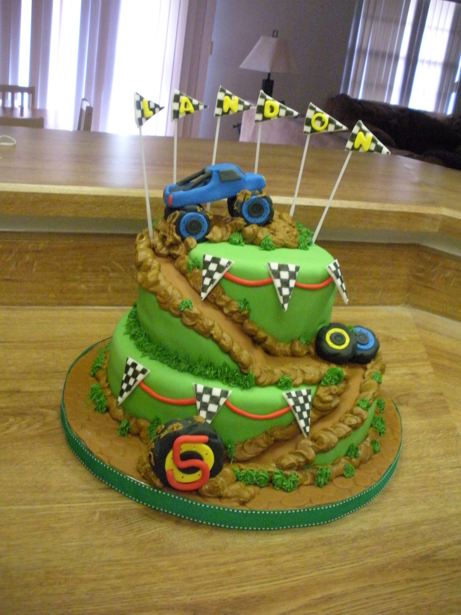 Monster Truck Birthday Party Cakecentral Com