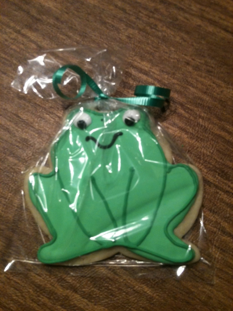 Frog Sugar Cookie on Cake Central