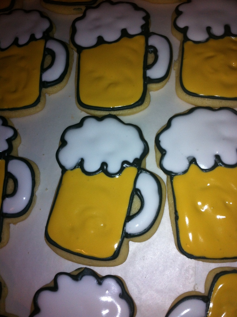 Oktoberfest Beer Mug Cookies Cakecentral Com