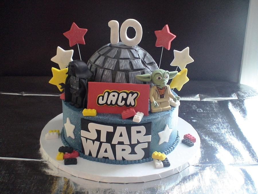 Star Wars Lego Cake Cakecentral Com