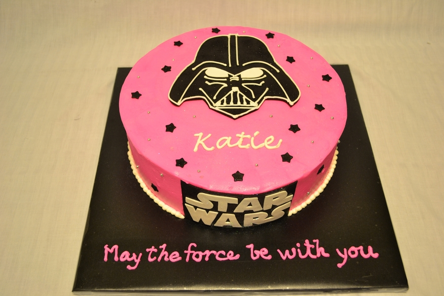 Star Wars Girl Cake CakeCentralcom
