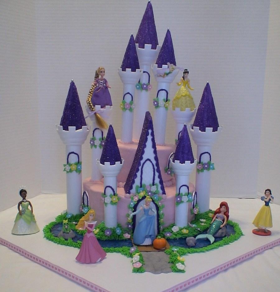 Disney Princess Castle Cake Cakecentral Com