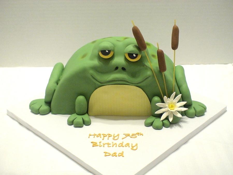 Frog Birthday Cake Recipe