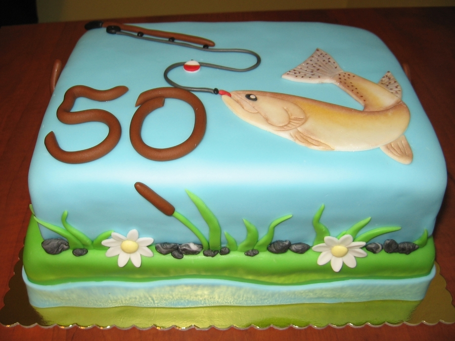 Fishing on Cake Central