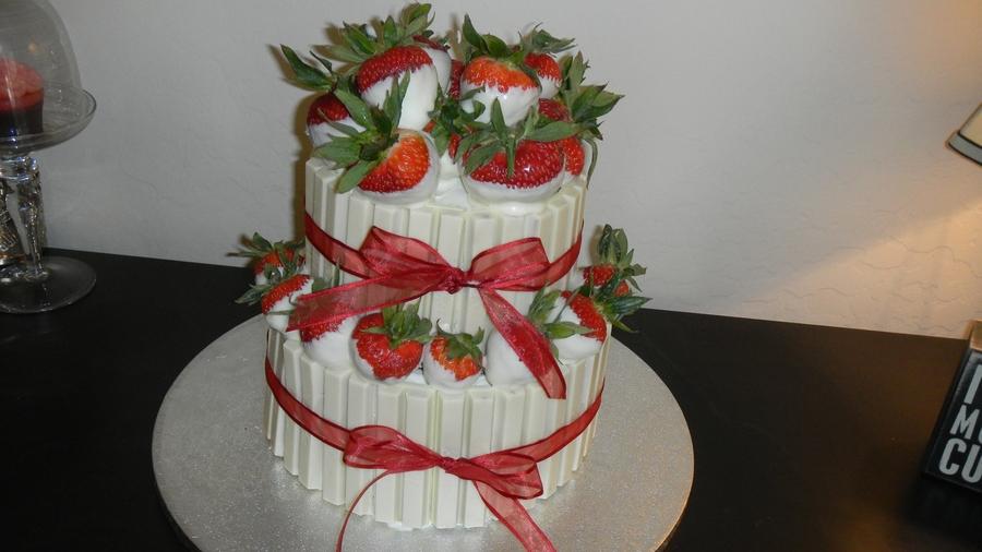 Kit Kat Strawberry Basket Cakecentral Com