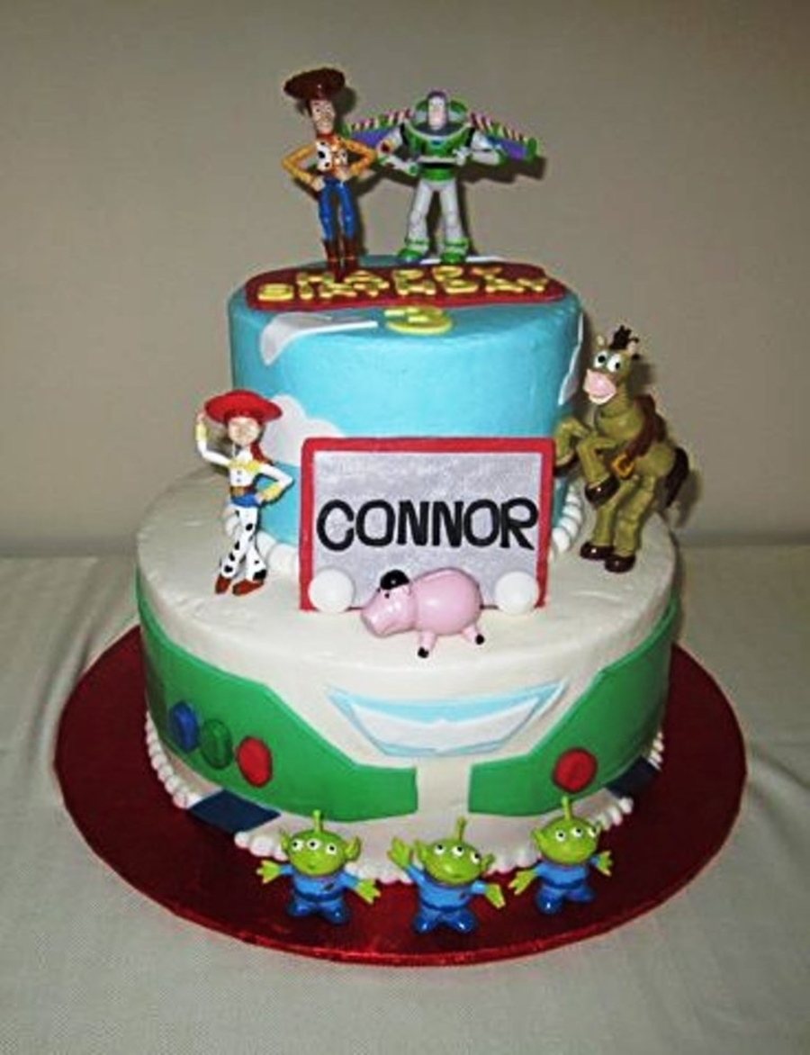 Toy Story For Connor's 3Rd Birthday on Cake Central