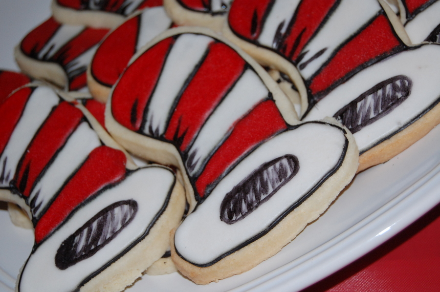 Dr. Seus Sugar Cookies on Cake Central
