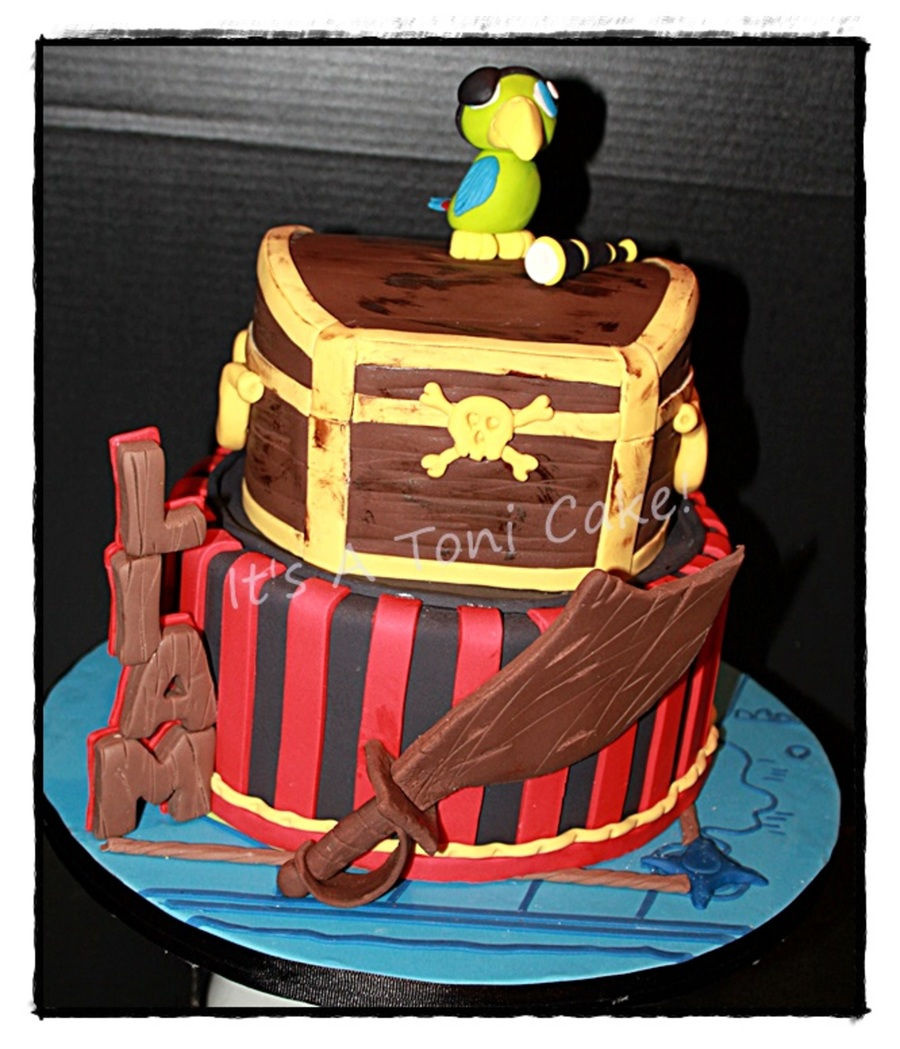 Pirate Parrot on Cake Central