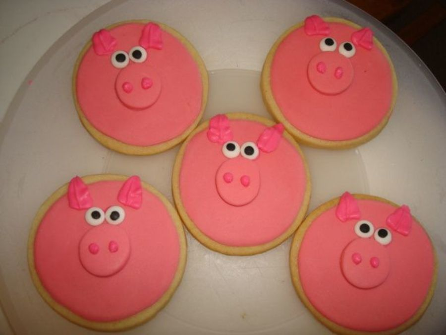 Pig Face Cookies Cakecentral Com