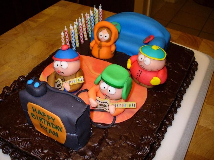 South Park Cake on Cake Central