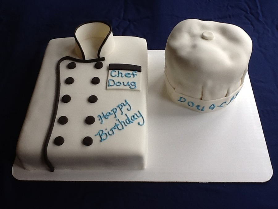 Chet's Hat And Coat on Cake Central