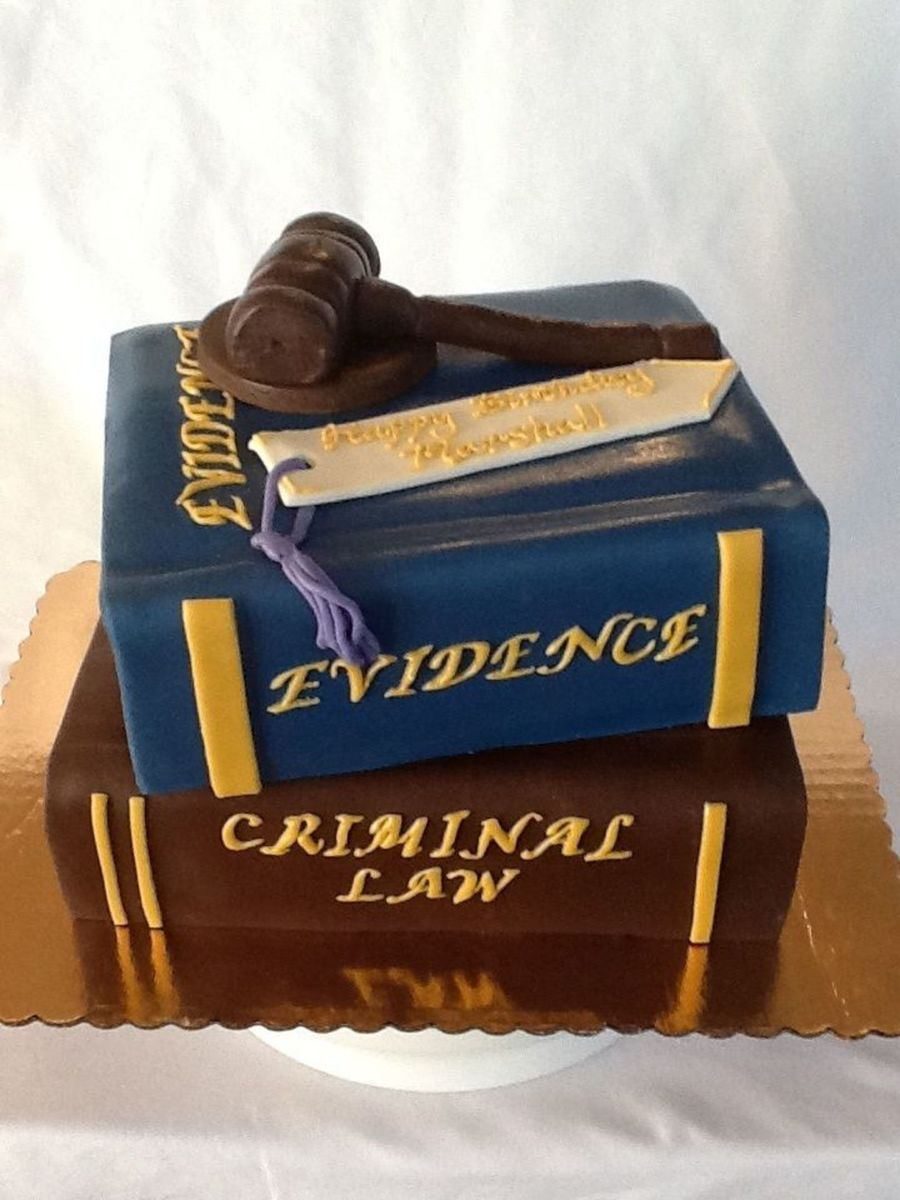 Stack Of Law Books Cakecentral Com