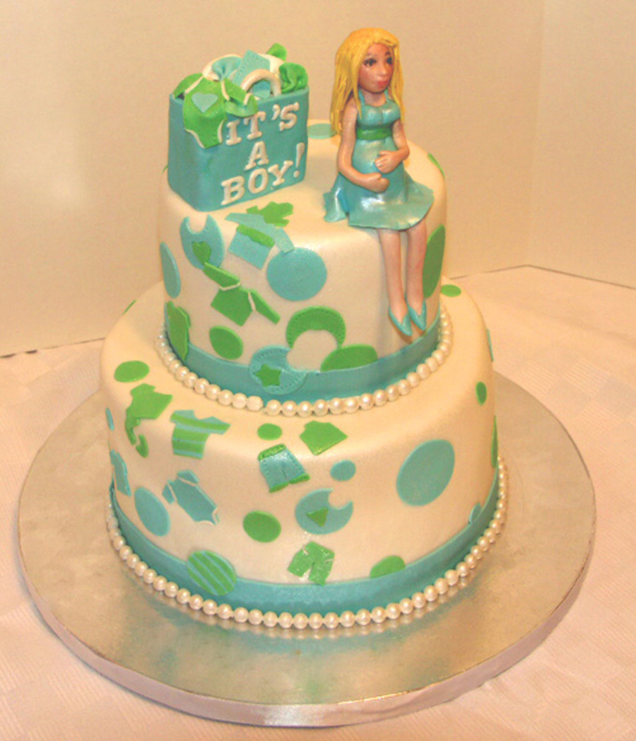Baby Shower Cake on Cake Central