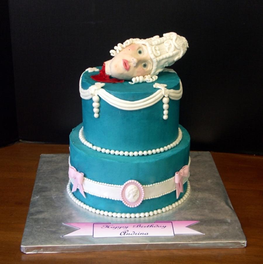 Marie Antoinette Birthday Cake