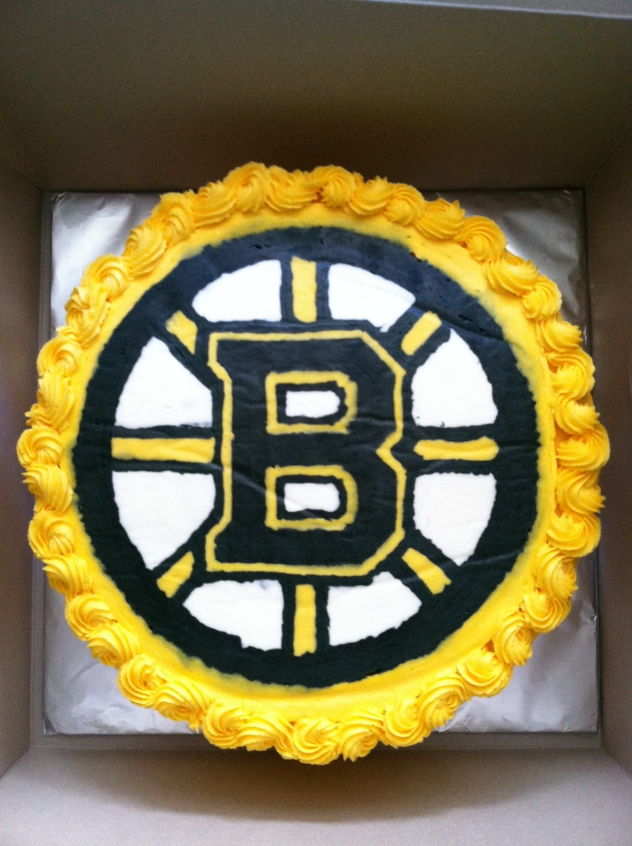 Boston Bruins Cake on Cake Central