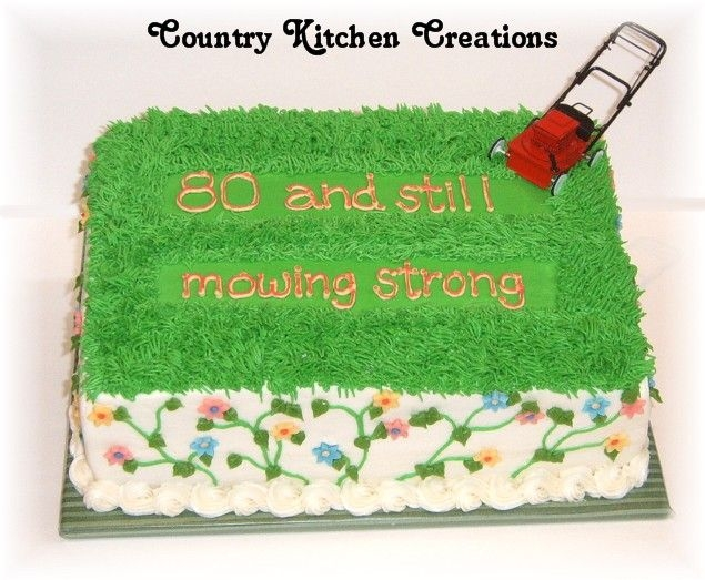 Still Mowing Strong on Cake Central
