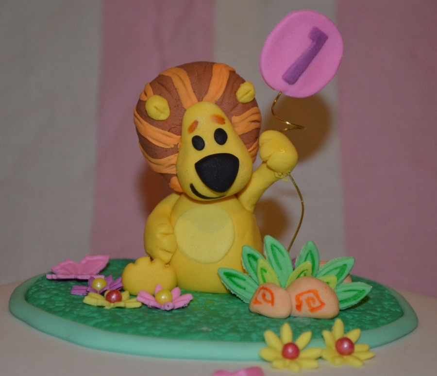Raa Raa The Noisy Lion Cake Topper Cakecentral