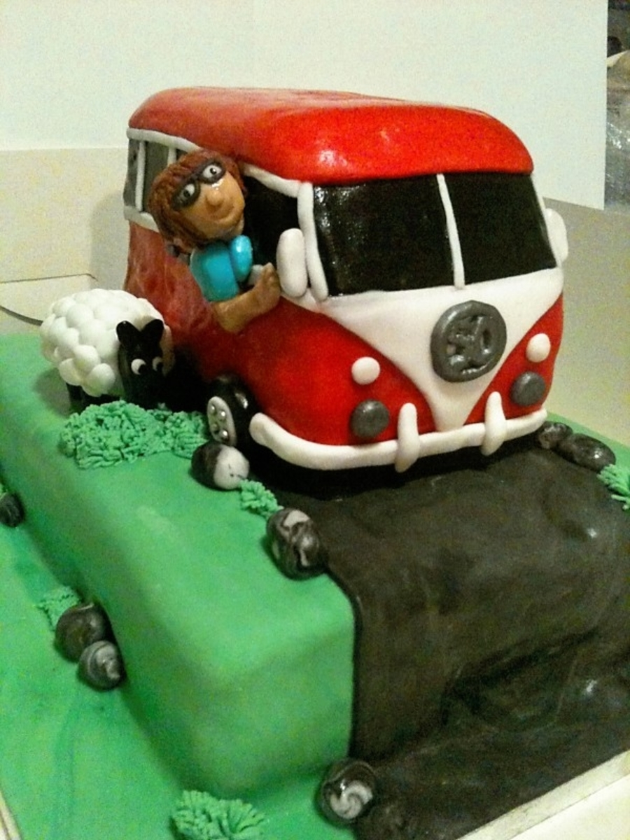 Campervan Cake on Cake Central