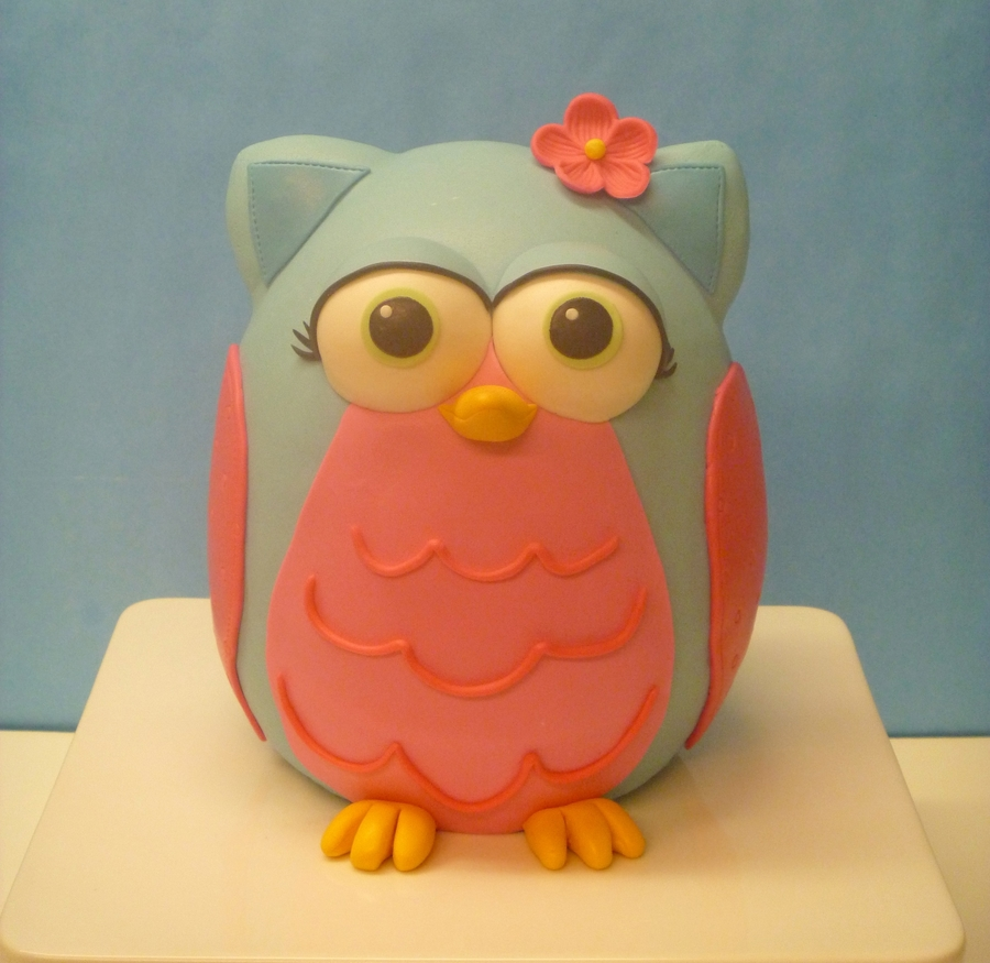 Birthday Owl on Cake Central