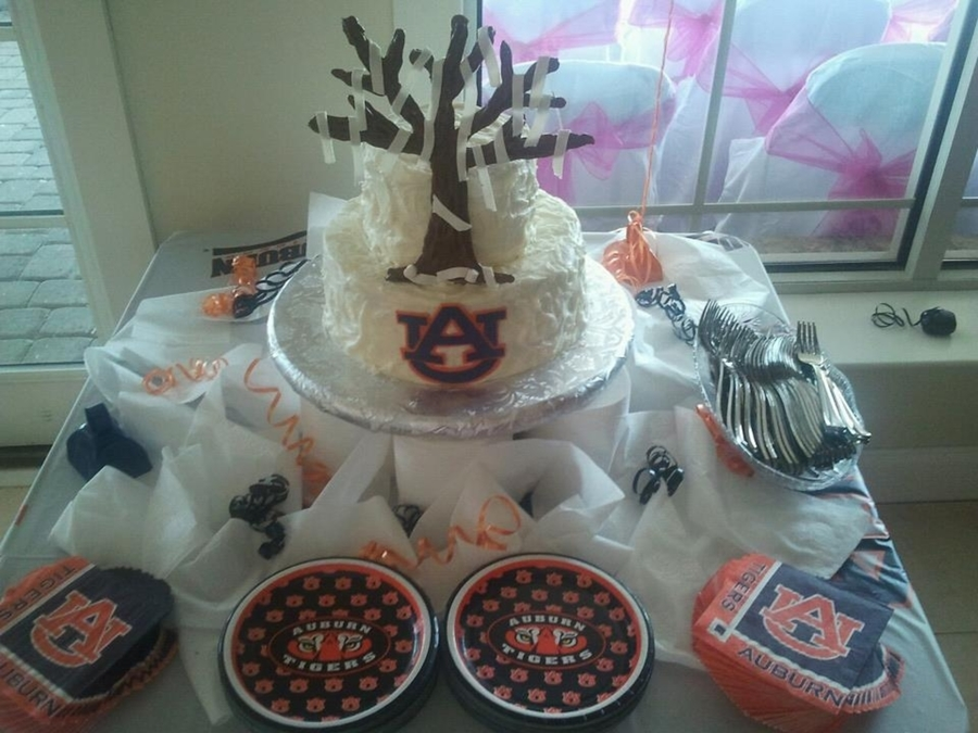 Auburn Tigers Grooms Cake on Cake Central