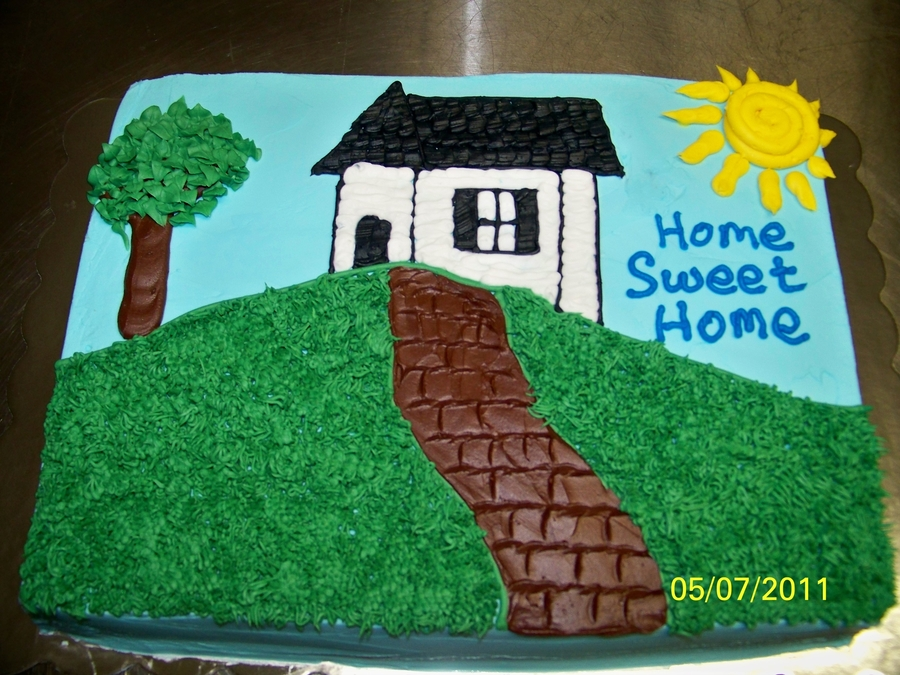 Home Sweet Home on Cake Central