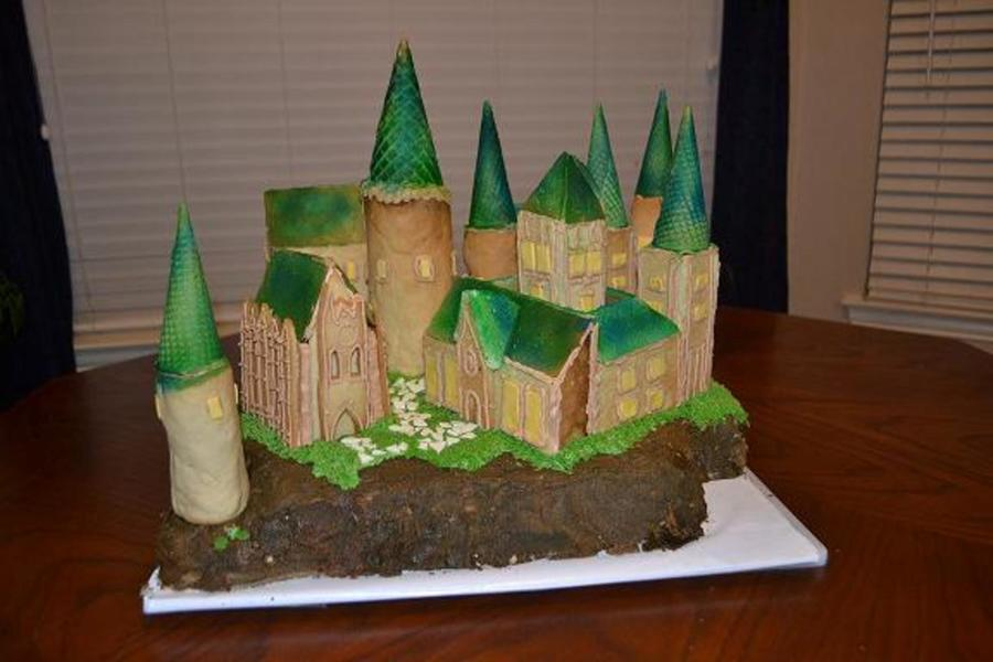 Hogwarts Castle Fom Harry Potter on Cake Central